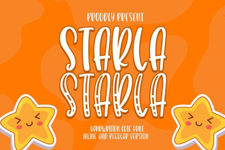 Starla Belovia - Playfull Font