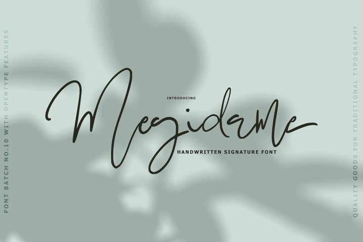 Megidame Signature