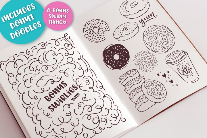 Donut Derby, a tasty caps font - Free Font of The Week Design3