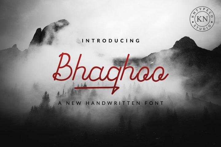 bhaqhoo handwritten