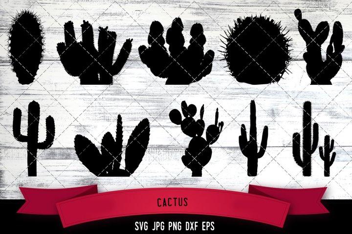 Cactus Cut file Svg