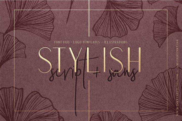 Stylish Font Duo