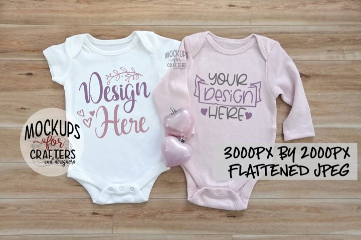 Baby Outfit duo, MOCK-UP