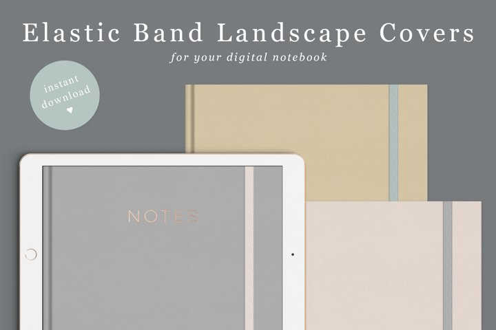 Landscape Goodnotes Covers
