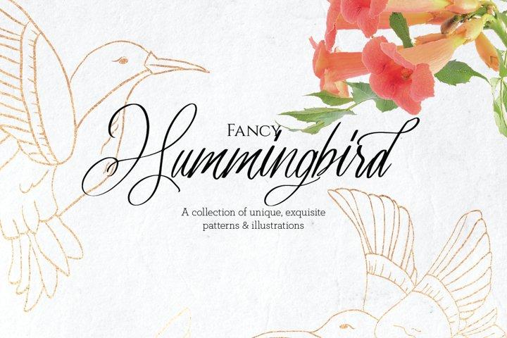 Fancy Hummingbird Collection
