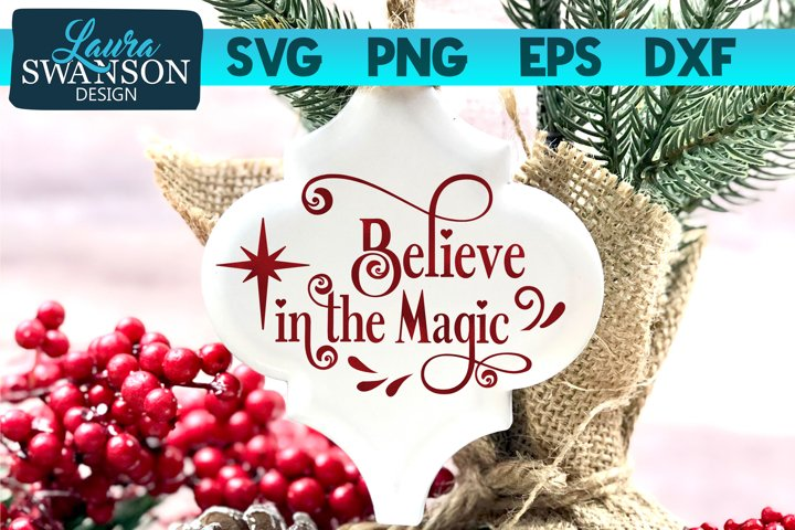 Believe in the Magic SVG, PNG, EPS, DXF