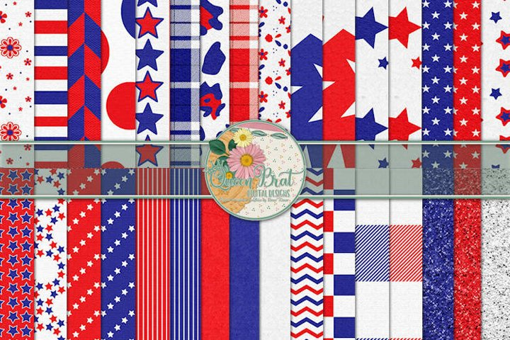 Patriotic Papers Pack 1