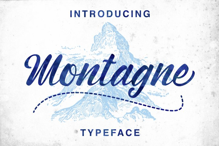 Montagne Typeface - Free Font of The Week Font