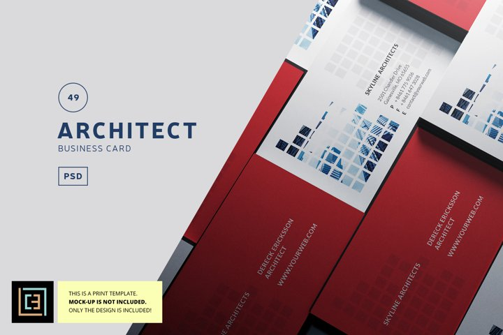 Architect Business Card - BC049