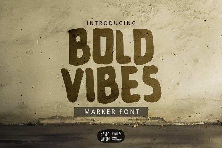 Bold Vibes Font