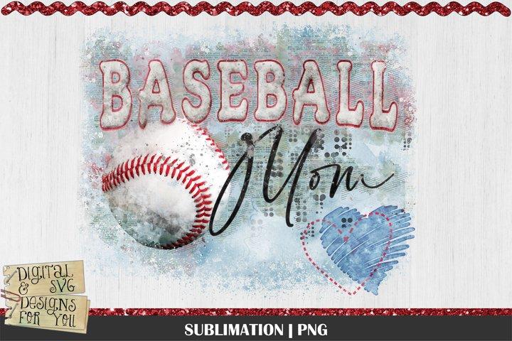 Baseball Mom | Baseball | Baseball Sublimation