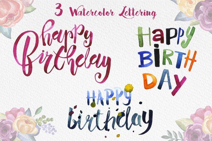 Happy Birthday Party example 3