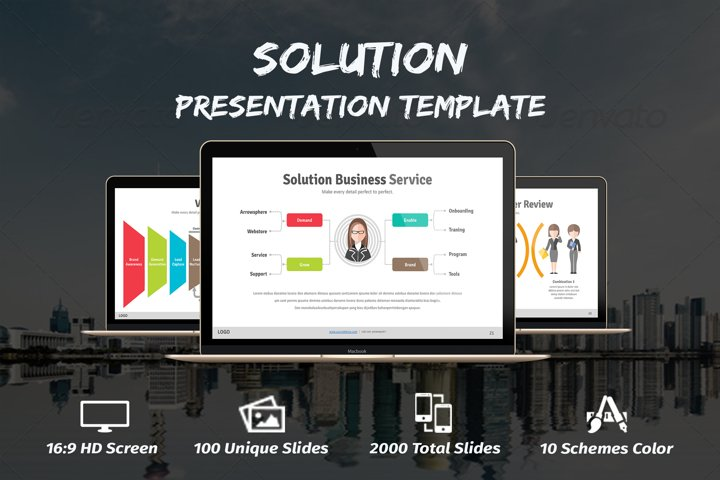 Solution Powerpoint Template