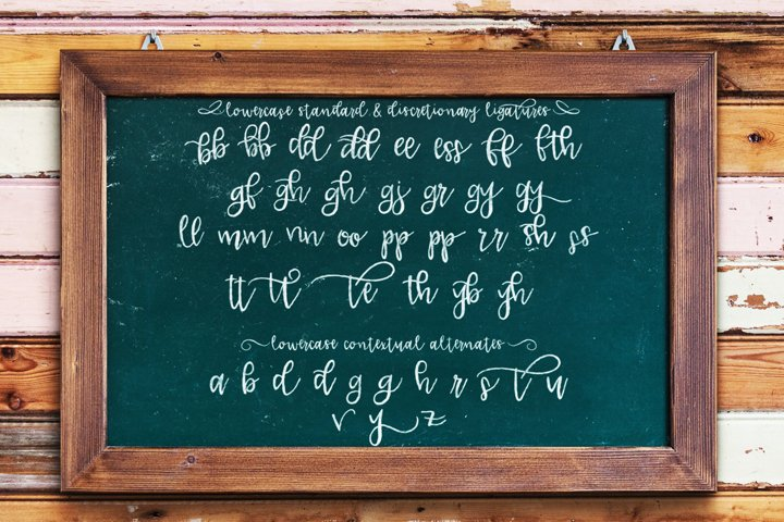 Lucille Handlettered Duo - Free Font of The Week Design2