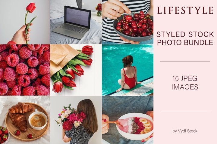 Lifestyle stock photo bundle #1