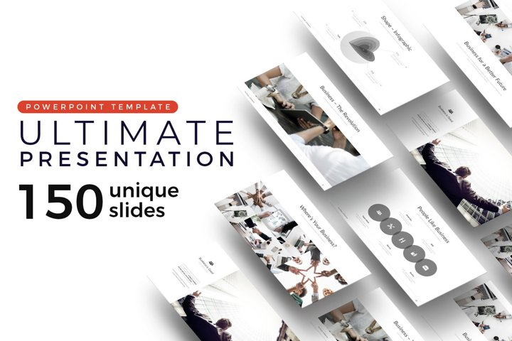 Ultimate Pitch Deck Presentation Template