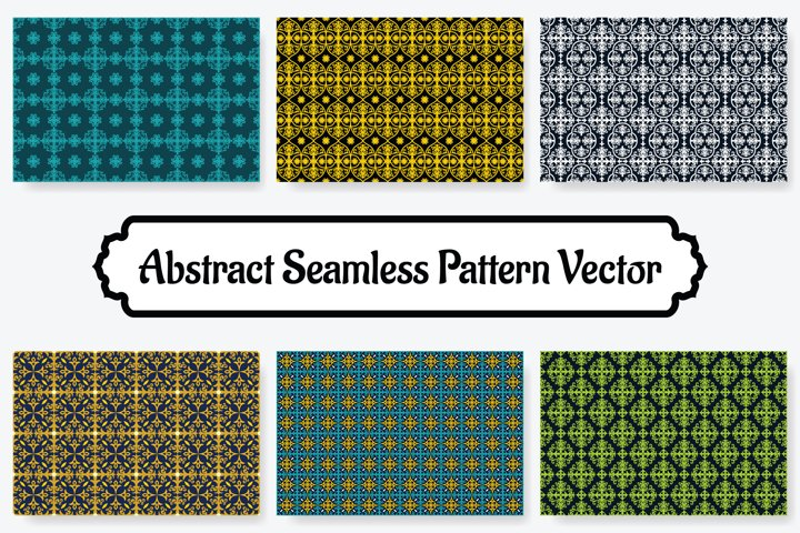 6 Collection Of Abstract Seamless Pattern Vol.8