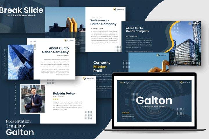 Golton - Busines Powerpoint Template