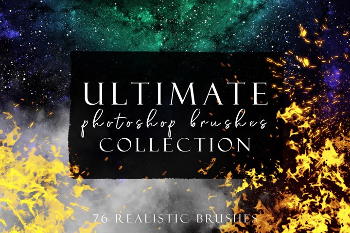 Ultimate Photoshop Brushes Collection