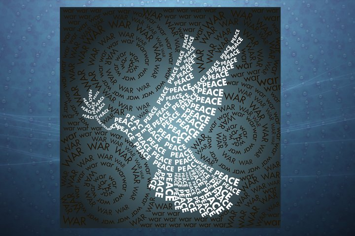 dove of peace in the words