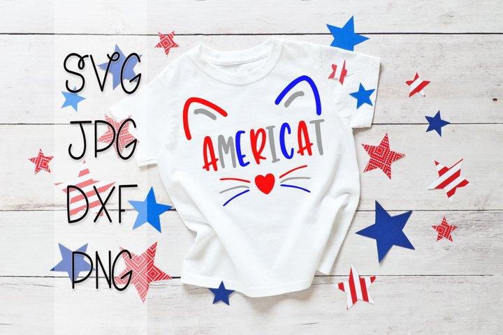 Americat - A 4th Of July SVG