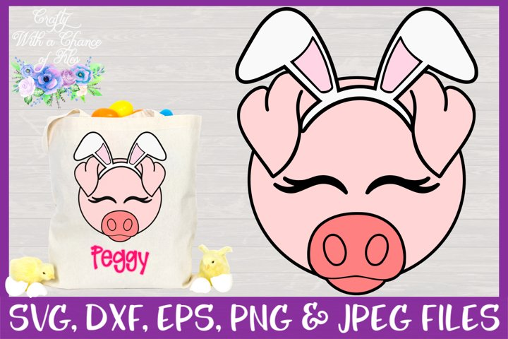 Easter | Pig Face SVG Cut File