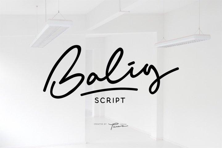Balig Script