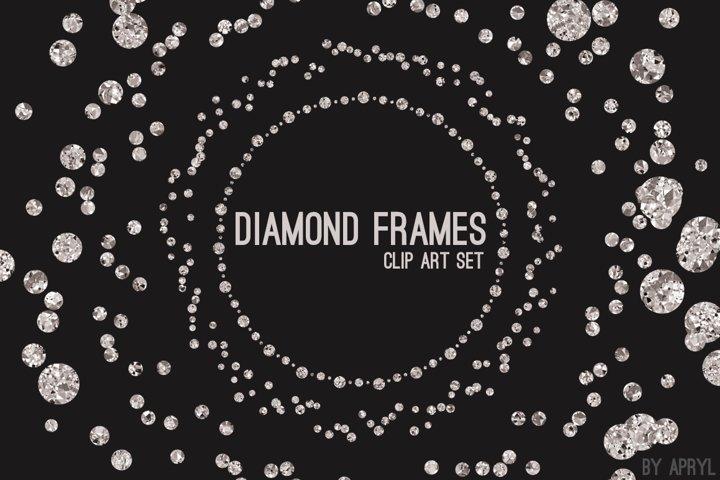 Diamond Frames Round Jewels