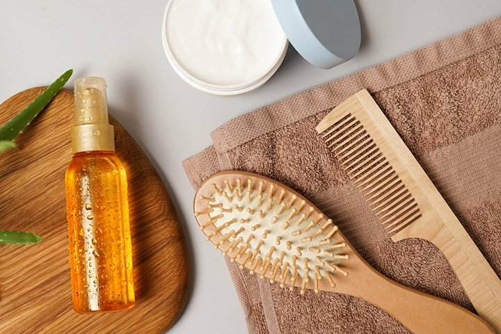 Cosmetics for body and hair care from natural ingredients