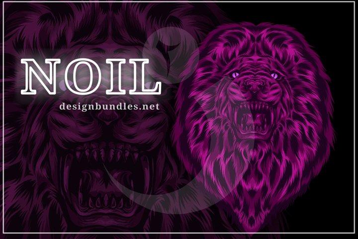 VECTOR ILLUSTRATION OF LION