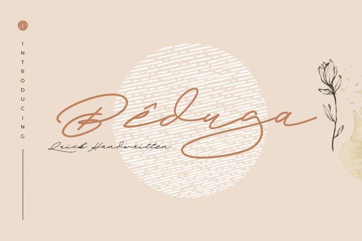 Beduga | Quick Handwritten