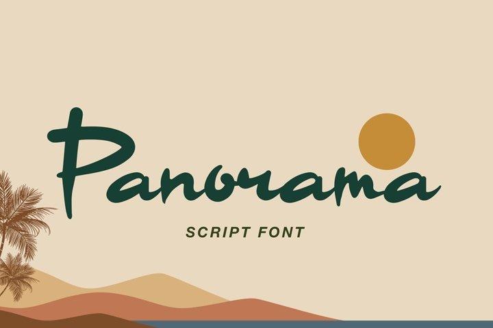 Panorama Script