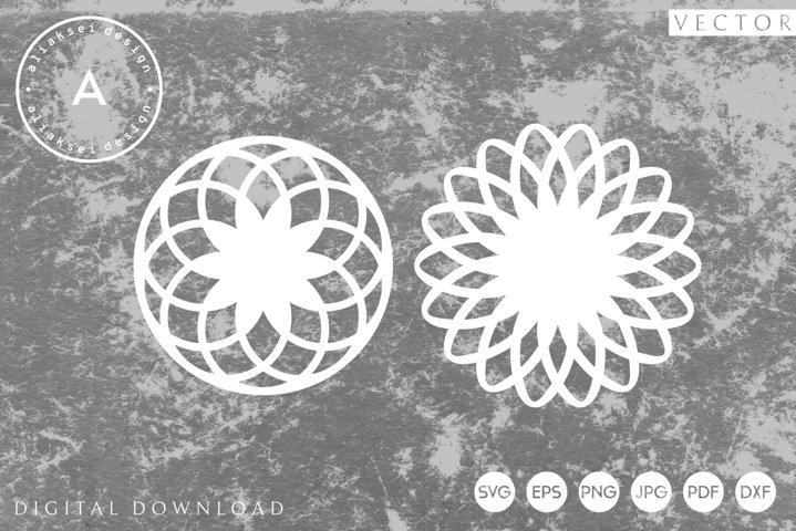 Snowflake | Paper Cut SVG