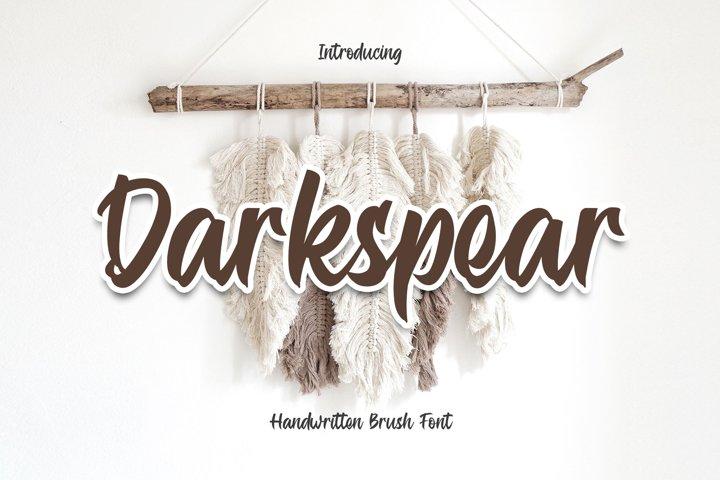 Darkspear - Script Font YR