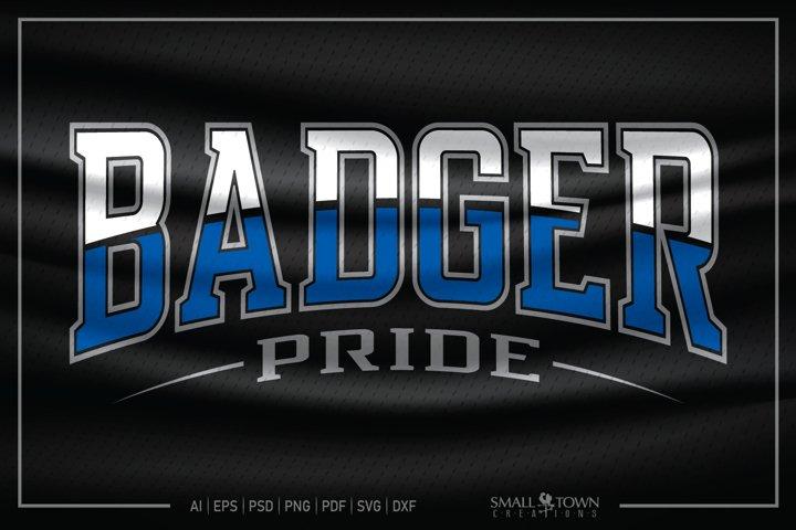 Badger, Badger Pride, Badger SVG, Badger Pride SVG