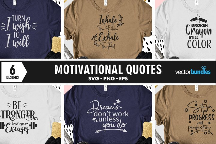 Motivational quotes svg. Cut files for crafters
