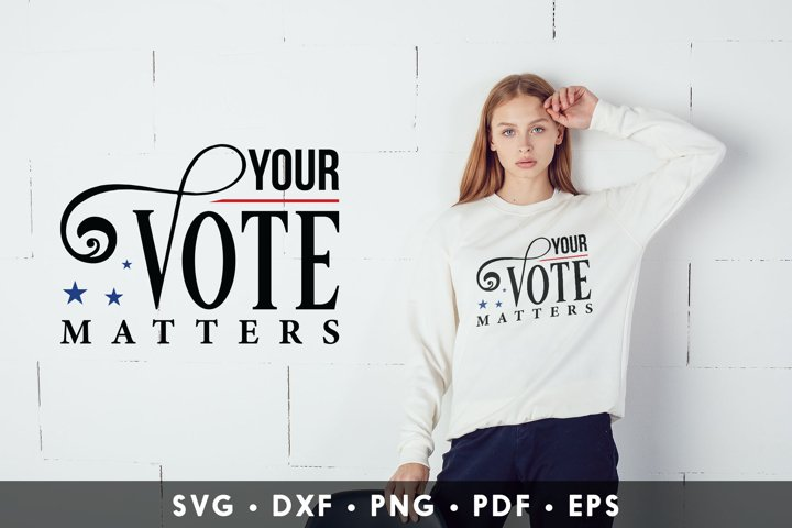 Your Vote Matters, Vote SVG, American Election 2020 SVG