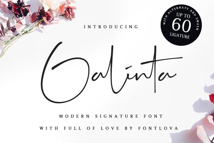 Galinta Signature