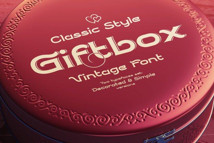 Giftbox Font