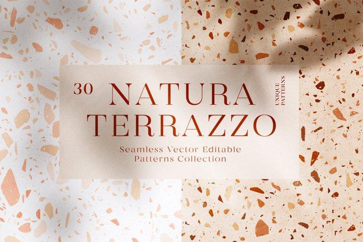 30 Terrazzo Seamless Patterns & Bonus Video Tutorials