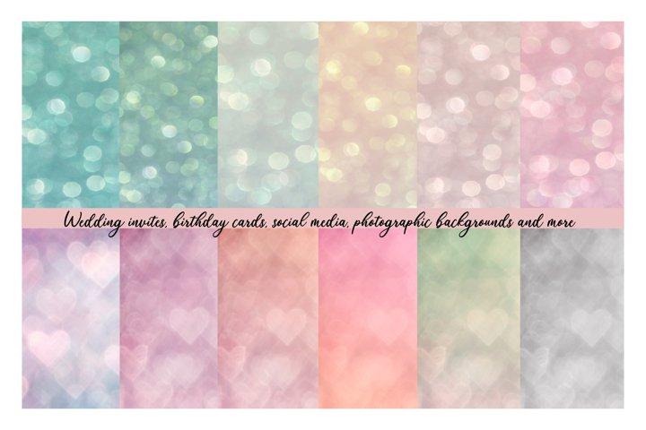 12 Lovely Soft Bokeh Backgrounds
