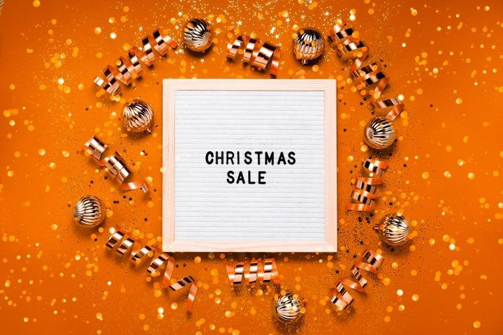 6 Background with Letter Board 1 Festive pattern