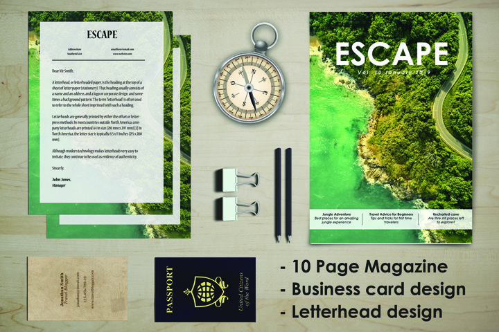 ESCAPE, Travel Stationary Kit