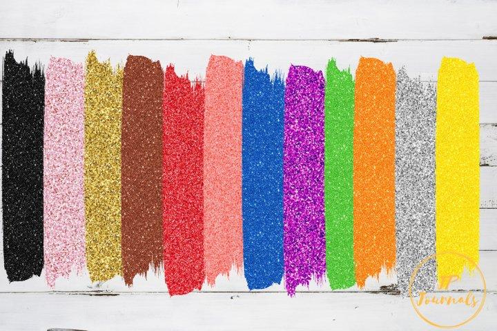 Glitter Brush Strokes Sublimation Backgrounds