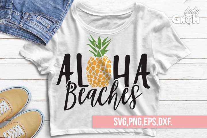 Aloha Beaches SVG, Aloha SVG, Beach svg, Summer svg, Summer
