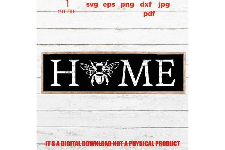 home, welcome sign vector design, funny, cute svg, home bee,