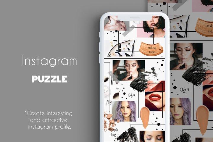 Instagram PUZZLE - Makeup