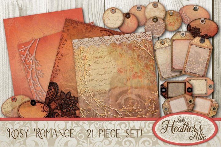 Rosy Romance - 21 Piece Bundle