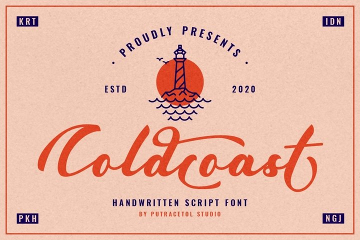 Coldcoast - Modern Handwritten Script