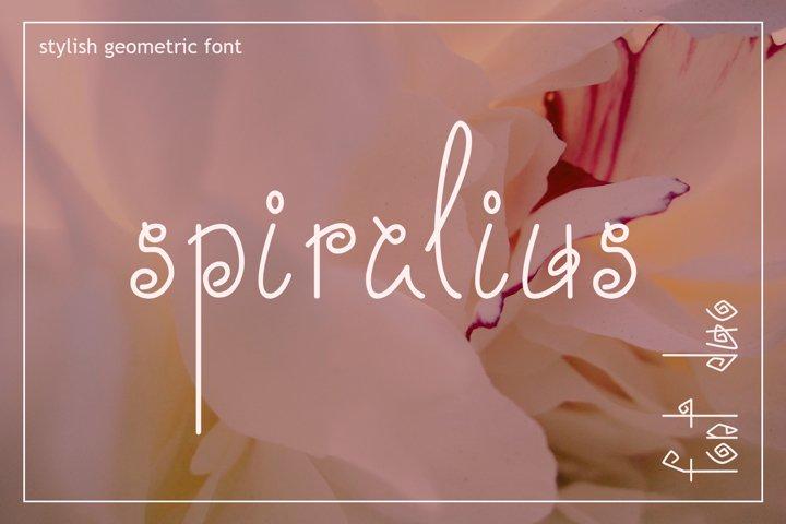 Spiralius Font Duo